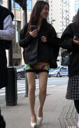 街拍短裙,高跟极品美女 [489 MBMP4]