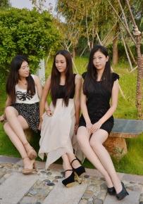 三个大美妞