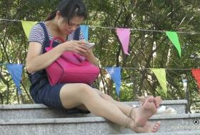 【1080P视频】美少妇脚底,香味萦绕 GQSP-H001.mp4