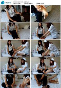 徐老师和小护士的丝袜展示