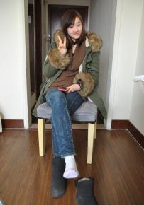 听说冬日里雪地靴与棉袜更配噢上