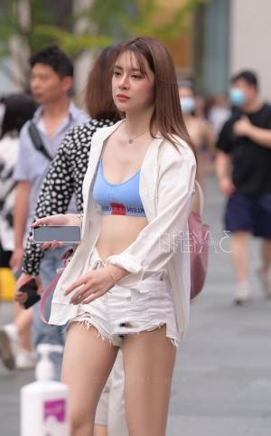 夏天,就该多穿热裤出街_ -14p