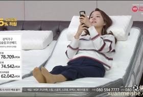 韩国美女展示肉丝美脚