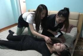 【K&M】三个闺蜜一起拍摄的剧情