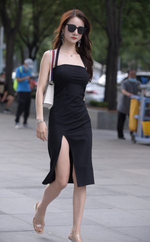黑色长裙,职业风 - 14p
