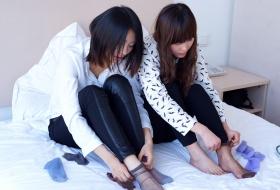 对于丝袜的理解,她们两诠释的最完美【79P】