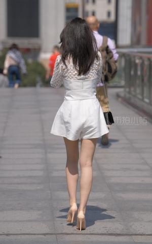 街拍时尚高跟气质美女 - 21P
