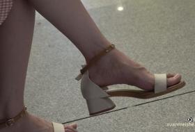 完美足弓气质美脚