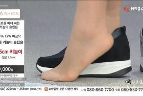 韩国电视购物 极品美足展示美脚穿靴