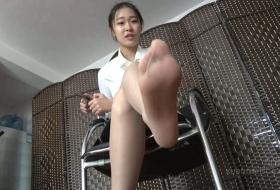 【K&M】诗颖的灵活肉丝脚