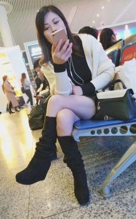 4k-性感美腿知性御姐气质女神