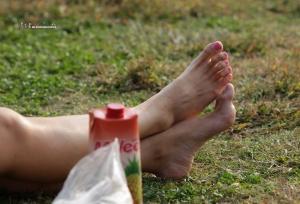 午后阳光里全方位欣赏很赞的美女性感玉足(43P)