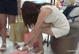 [ZL 4K视频]长丝女孩试鞋,位置再小也得挤到她身边